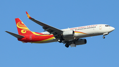 A picture of B5373 - Boeing 73784P - Hainan Airlines - © Jerry.H