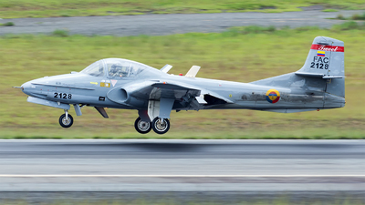 FAC2128 - Cessna T-37B Tweety Bird - Colombia - Air Force