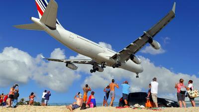 F-GLZQ - Airbus A340-313X - Air France