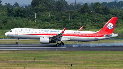 B-30FR - Airbus A321-271NX - Sichuan Airlines