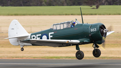 VH-BFF - CAC Wirraway - Temora Aviation Museum
