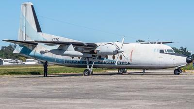 1770 - Fokker F27-400M Troopship - Guatemala - Air Force