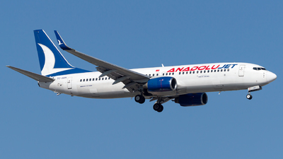 A picture of TCSBN - Boeing 7378Q8 - Turkish Airlines - © Turkay Oksuz