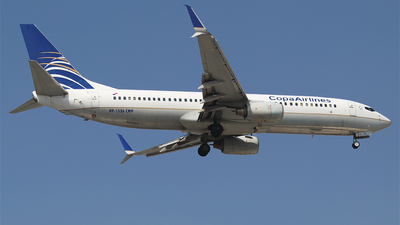 A picture of HP1526CMP - Boeing 7378V3 - Copa Airlines - © Alejandro Aceves