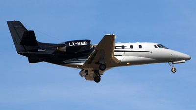 LX-MMB - Cessna 560XL Citation Excel - Global Jet Luxembourg
