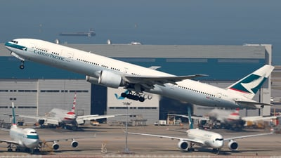 B-KPC - Boeing 777-367ER - Cathay Pacific Airways