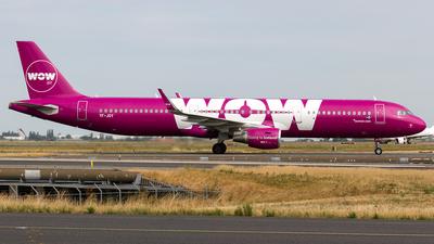TF-JOY - Airbus A321-211 - WOW Air