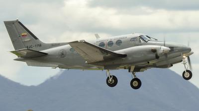 A picture of EJC1116 - Beech C90 King Air - [LJ739] - © Santiago Peña