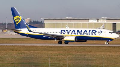 A picture of EIDWJ - Boeing 7378AS - Ryanair - © Niklas Engel