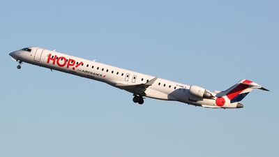 F-HMLG - Bombardier CRJ-1000 - HOP! for Air France