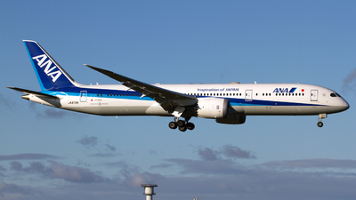 A picture of JA875A - Boeing 7879 Dreamliner - All Nippon Airways - © Marc Lehmann