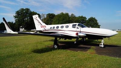 A picture of DIETA - Cessna 414A Chancellor - [414A0473] - © Fabian Lutz