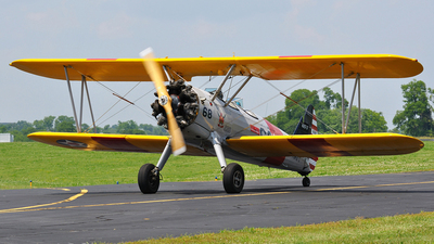 N68W - Boeing N2S-3 Stearman - Private