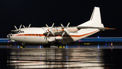 UR-CGW - Antonov An-12B - Meridian Aviation
