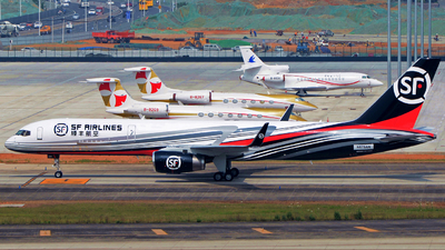 N675AN - Boeing 757-223(PCF) - SF Airlines