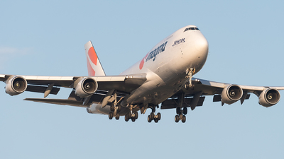 A picture of TFAMN - Boeing 7474F6(BDSF) - Air Atlanta Icelandic - © bill wang