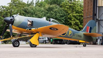 A picture of GCBEL - Hawker Fury MK11 - [37539] - © Przemyslaw Burdzinski