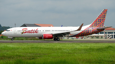 PK-LBH - Boeing 737-9GPER - Batik Air