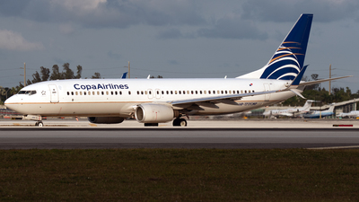 A picture of HP1717CMP - Boeing 7378V3 - Copa Airlines - © PAUL LINK