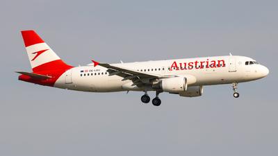 OE-LBU - Airbus A320-214 - Austrian Airlines