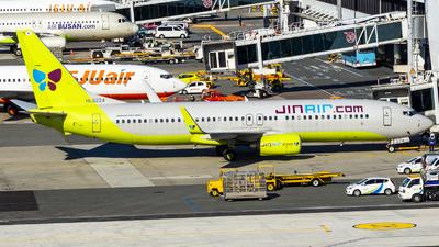 A picture of HL8224 - Boeing 7378Q8 - Jin Air - © Lee Jihun-Korea Aero Photos