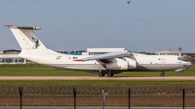360 - Ilyushin IL-76MF - Jordan - Air Force