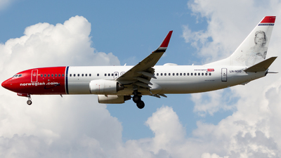 LN-NOD - Boeing 737-8Q8 - Norwegian