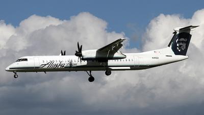 A picture of N411QX - De Havilland Canada Dash 8400 - [4055] - © Stig Rokkones