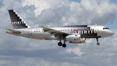 N512NK - Airbus A319-132 - Spirit Airlines