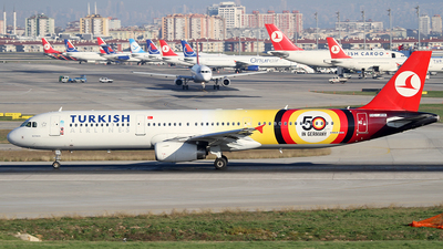 TC-JRK - Airbus A321-231 - Turkish Airlines