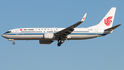 B-1958 - Boeing 737-89L - Air China