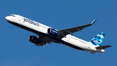 A picture of N2029J - Airbus A321271NX - JetBlue Airways - © HAOFENG YU