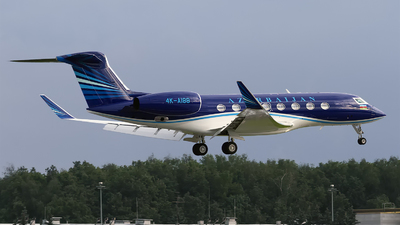 4K-AI88 - Gulfstream G650 - Azerbaijan - Government