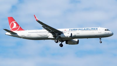 A picture of TCJSF - Airbus A321231 - Turkish Airlines - © RAFAL KUKOWSKI