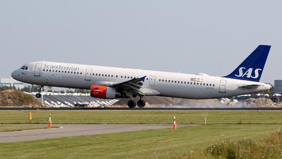 LN-RKI - Airbus A321-232 - Scandinavian Airlines (SAS)