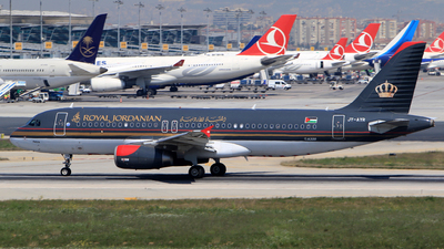 JY-AYR - Airbus A320-232 - Royal Jordanian