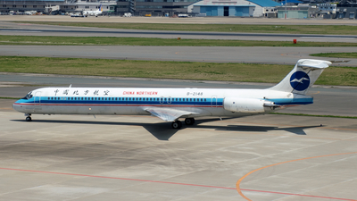 B-2148 - McDonnell Douglas MD-82 - China Northern Airlines