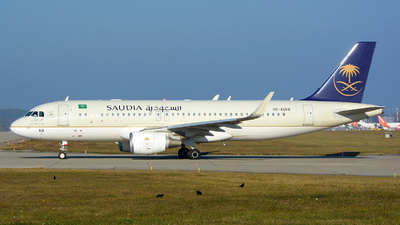 A picture of HZAS68 - Airbus A320214 - Saudia - © jeremy denton