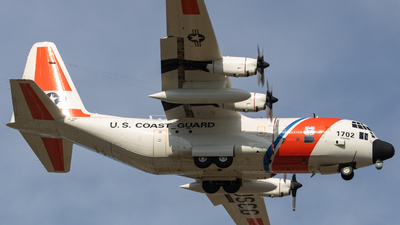 1702 - Lockheed HC-130H Hercules - United States - US Coast Guard (USCG)