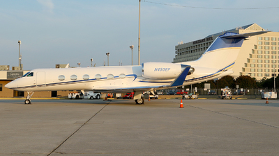 N450EF - Gulfstream G-IV - Private