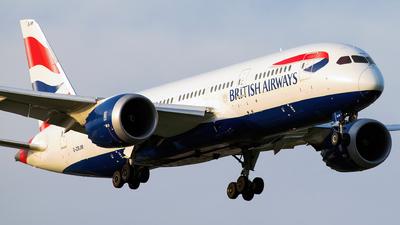 A picture of GZBJM - Boeing 7878 Dreamliner - British Airways - © Gautham Kurup