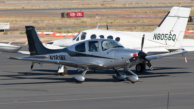 A picture of N181MK - Cirrus SR22T - [1105] - © Yixin Chen