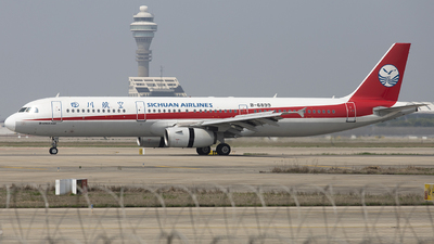 B-6899 - Airbus A321-231 - Sichuan Airlines
