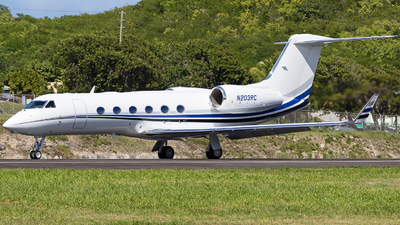 N203RC - Gulfstream G450 - Private