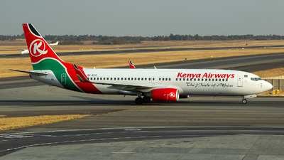 5Y-KYF - Boeing 737-86N - Kenya Airways