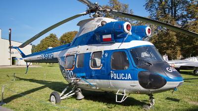 SN-51XP - PZL-Swidnik Kania - Poland - Police