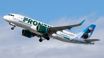 N322FR - Airbus A320-251N - Frontier Airlines
