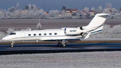 N246V - Gulfstream G450 - Private