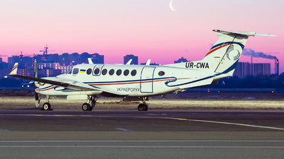 UR-CWA - Beechcraft B300 King Air - UkSATSE