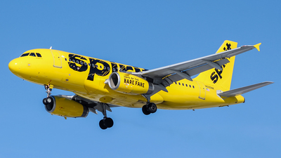 N505NK - Airbus A319-132 - Spirit Airlines